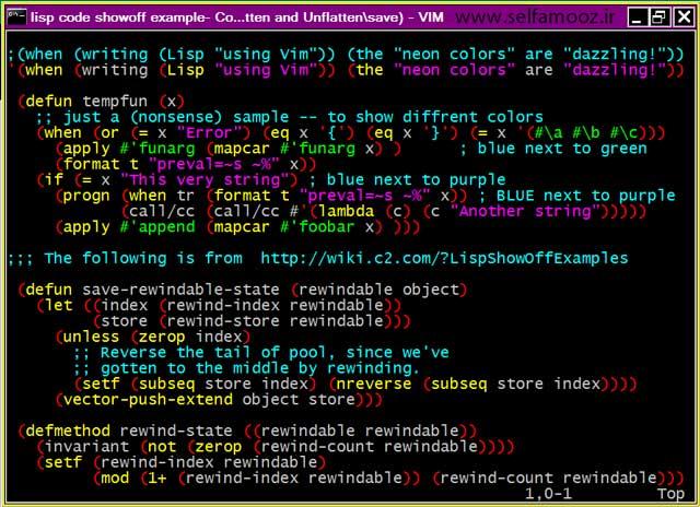نمونه ای از کدهای زبانهای برنامه نویسی در اتوکد